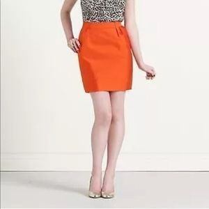 🍊Kate Spade 'Meredith' silk pencil skirt